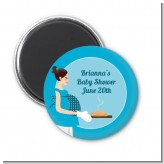 Bun in the Oven Boy - Personalized Baby Shower Magnet Favors