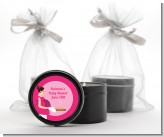 Bun in the Oven Girl - Baby Shower Black Candle Tin Favors