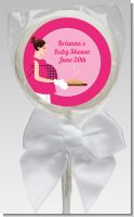 Bun in the Oven Girl - Personalized Baby Shower Lollipop Favors