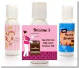 Bun in the Oven Girl - Personalized Baby Shower Lotion Favors