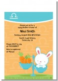 Bunny | Libra Horoscope - Baby Shower Petite Invitations