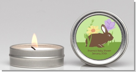 Bunny - Baby Shower Candle Favors