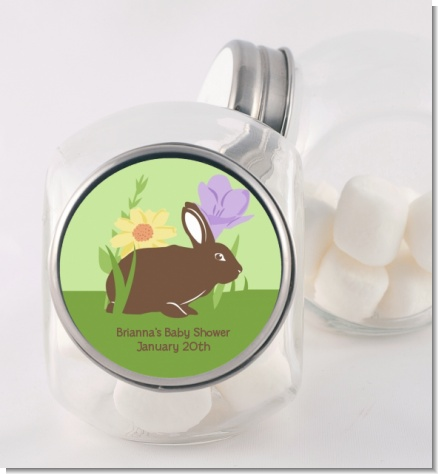 Bunny - Personalized Baby Shower Candy Jar