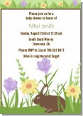 Bunny - Baby Shower Invitations