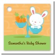 Bunny | Libra Horoscope - Personalized Baby Shower Card Stock Favor Tags thumbnail