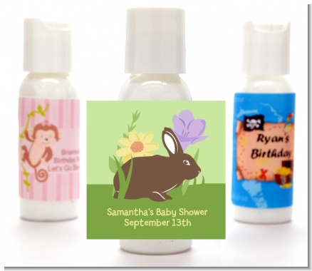 Bunny - Personalized Baby Shower Lotion Favors