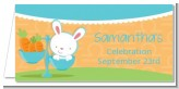 Bunny | Libra Horoscope - Personalized Baby Shower Place Cards