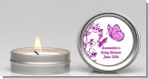 Butterfly - Baby Shower Candle Favors