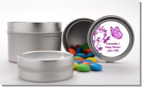 Butterfly - Custom Baby Shower Favor Tins