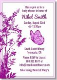 Butterfly - Baby Shower Invitations