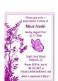 Butterfly - Baby Shower Petite Invitations thumbnail