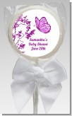 Butterfly - Personalized Baby Shower Lollipop Favors