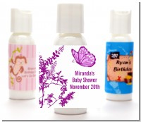 Butterfly - Personalized Baby Shower Lotion Favors