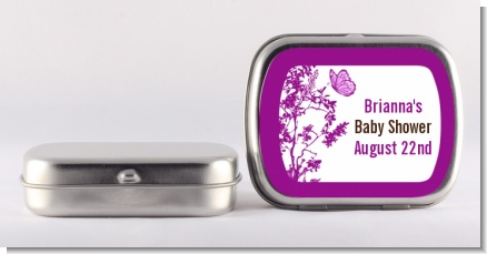 Butterfly - Personalized Baby Shower Mint Tins