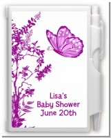 Butterfly - Baby Shower Personalized Notebook Favor