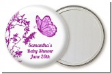 Butterfly - Personalized Baby Shower Pocket Mirror Favors