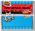 Calling All Superheroes - Personalized Birthday Party Candy Bar Wrappers thumbnail