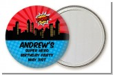 Calling All Superheroes - Personalized Birthday Party Pocket Mirror Favors
