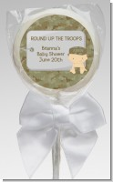 Camo Military - Personalized Baby Shower Lollipop Favors