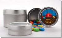 Camping - Custom Birthday Party Favor Tins