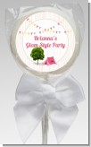 Camping Glam Style - Personalized Birthday Party Lollipop Favors