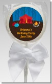 Camping - Personalized Birthday Party Lollipop Favors