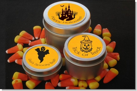 Halloween - Halloween Candle Favors