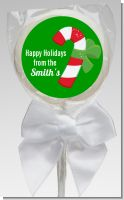 Candy Cane - Personalized Christmas Lollipop Favors