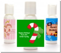 Candy Cane - Personalized Christmas Lotion Favors