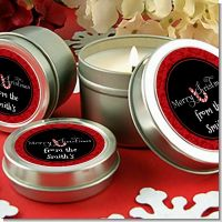 Candy Canes - Christmas Candle Favors