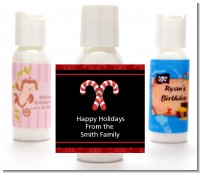 Candy Canes - Personalized Christmas Lotion Favors