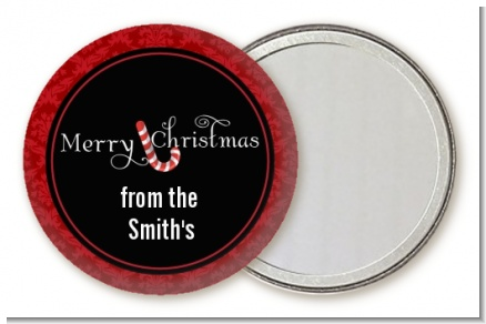 Candy Canes - Personalized Christmas Pocket Mirror Favors