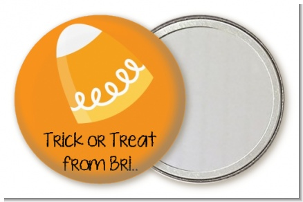 Candy Corn - Personalized Halloween Pocket Mirror Favors