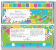 Candy Land - Personalized Birthday Party Candy Bar Wrappers thumbnail