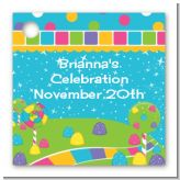 Candy Land - Personalized Birthday Party Card Stock Favor Tags