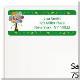 Candy Tree - Birthday Party Return Address Labels