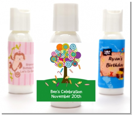 Candy Tree - Personalized Birthday Party Lotion Favors