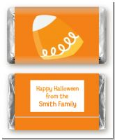 Candy Corn - Personalized Halloween Mini Candy Bar Wrappers