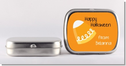 Candy Corn - Personalized Halloween Mint Tins