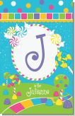 Candy Land - Personalized Birthday Party Nursery Wall Art