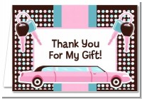 Car Keys | Sweet 16 - Birthday Party Thank You Cards