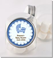 Carriage - Personalized Baby Shower Candy Jar