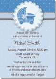Carriage - Baby Shower Invitations