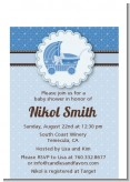 Carriage - Baby Shower Petite Invitations