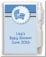 Carriage - Baby Shower Personalized Notebook Favor