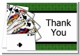 Casino Night Royal Flush - Birthday Party Thank You Cards thumbnail