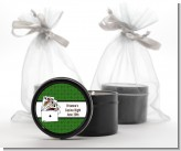 Casino Night Royal Flush - Birthday Party Black Candle Tin Favors