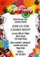 Casino Night Vegas Style - Birthday Party Invitations thumbnail