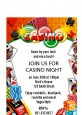 Casino Night Vegas Style - Birthday Party Petite Invitations thumbnail