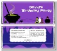 Cauldron & Potions - Personalized Birthday Party Candy Bar Wrappers thumbnail